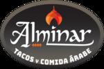Logotipo Alminar Tacos y Comida Árabe