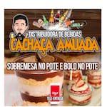 Logotipo Distribuidora de Bebidas Cachaca Amuada