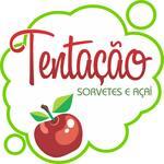 Logotipo Açaí Tentação