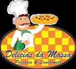 Logotipo Delícias da Massa Pizzaria