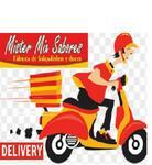 Logotipo Mister Mix Sabores Salgadinhos