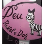 Logotipo Deu Zebra Pastel e Dog