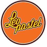 Logotipo Leo Pastel