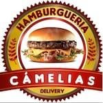 Logotipo Hambúrgueria Camélias