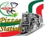 Logotipo Pizzas Station