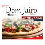 Logotipo Dom Jairo Pizza Delivery