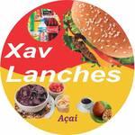 Logotipo Xav Lanches, Sucos, Acai e Bebidas