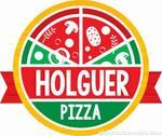 Logotipo Holguer Pizza - Centro