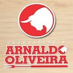 Logotipo Pizzaria Arnaldo Oliveira Forno a Lenha
