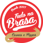 Logotipo Tudo na Brasa Churrascaria