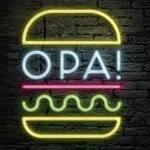 Logotipo Opa Burguer