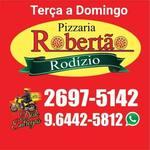 Logotipo Pizzaria Robertão