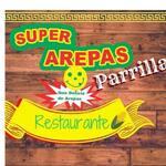Logotipo Super Arepas Parrilla