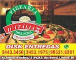 Logotipo Pizzaria D'italia II