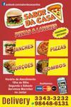 Logotipo Sabor da Casa Lanches e Pizzas