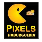 Logotipo Pixels Hamburgueria & Pizza Delivery