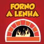 Logotipo Pizzaria Forno À Lenha