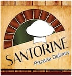 Logotipo Santorine Delivery Pizzaria