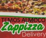 Logotipo Zappizza Almoço e Pizza