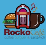 Logotipo Rocko Cafe Tlahuac