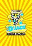 Logotipo D`jack Bubble Waffle