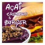 Açaí Cremoso e Burger