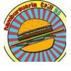 Logotipo Hamburgueria Grill 23