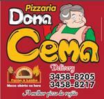 Logotipo Pizzaria Dona Cema