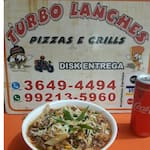 Logotipo Turbo Lanches e Pizzaria Delivery