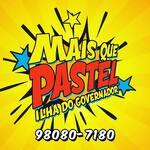Logotipo + Que Pastel Ilha
