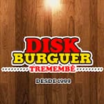Logotipo Disk Burguer Tremembe