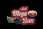 Logotipo Açaíteria Mega Bom