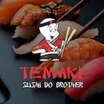 Logotipo Temaki Sushi do Brother