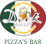 Logotipo Restaurante e Pizzaria Deck Mallet