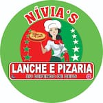 Logotipo Nivia Lanche e Pizzaria