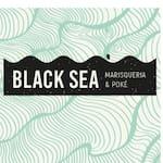 Logotipo Black Sea Marisqueria e Poke