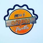 Logotipo Más Q' Arepas y Parrilla