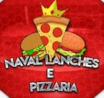 Logotipo Naval Lanches e Pizzaria