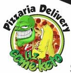 Logotipo Pizzaria Delivery Uz Come Keto
