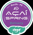 Logotipo Açaí Spring
