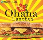 Logotipo Ohana Lanches & Açaí
