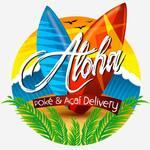 Logotipo Aloha - Poke & Açaí Delivery