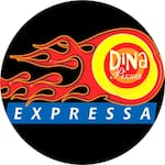 Logotipo Dina Pizza - Sítio Cercado