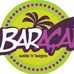 Logotipo Baraçaí Sushis 'n' Burgers