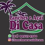 Logotipo Lanches e Açaí Di Casa