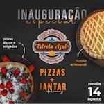Logotipo Pizzaria e Restaurante Estrelazul