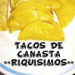 Logotipo Tacos de Canasta Riquísimos