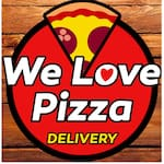 Logotipo We Love Pizza  Messejana