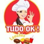 Logotipo Tudo Ok! Lanches