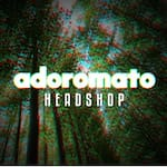 Logotipo Adoro Mato Tabacaria e Headshop